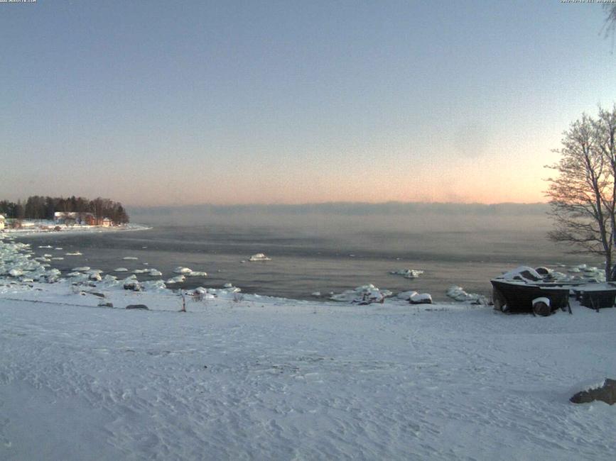 9. detsember 2012 Käsmu veebikaameras Allikas: Aarne Vaigu erakogu