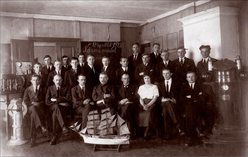 Käsmu Merekool 1922 Allikas: Aarne Vaigu erakogu