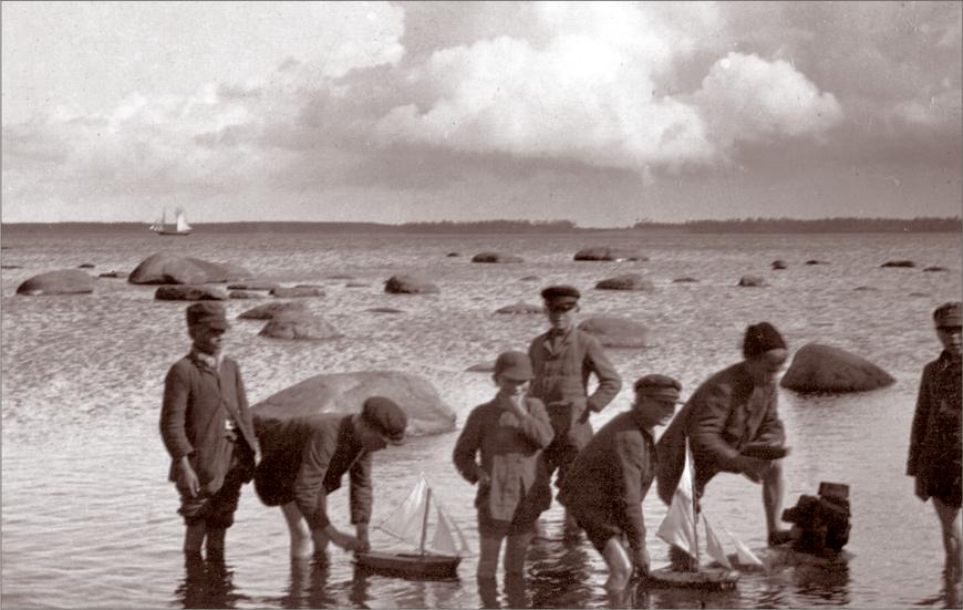 Foto: E.Russow. Külarand. 04.08.1896. Allikas: Aarne Vaigu erakogu