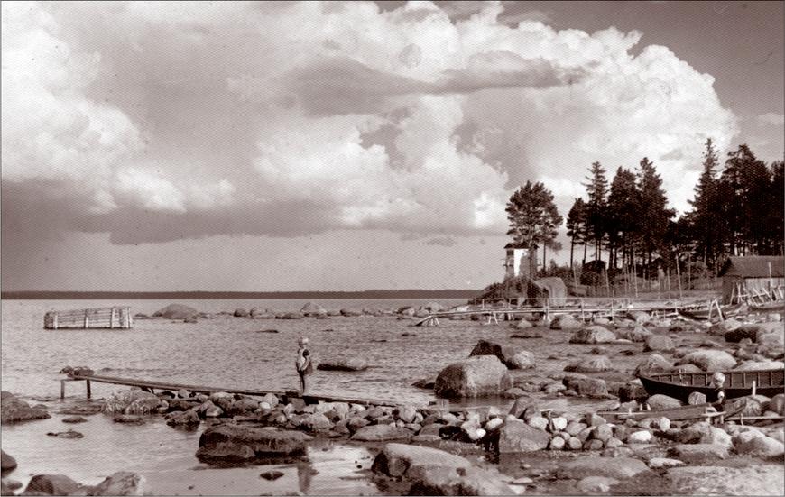 Vaade Käsmu majakale 1930ndad. Allikas: Aarne Vaigu erakogu