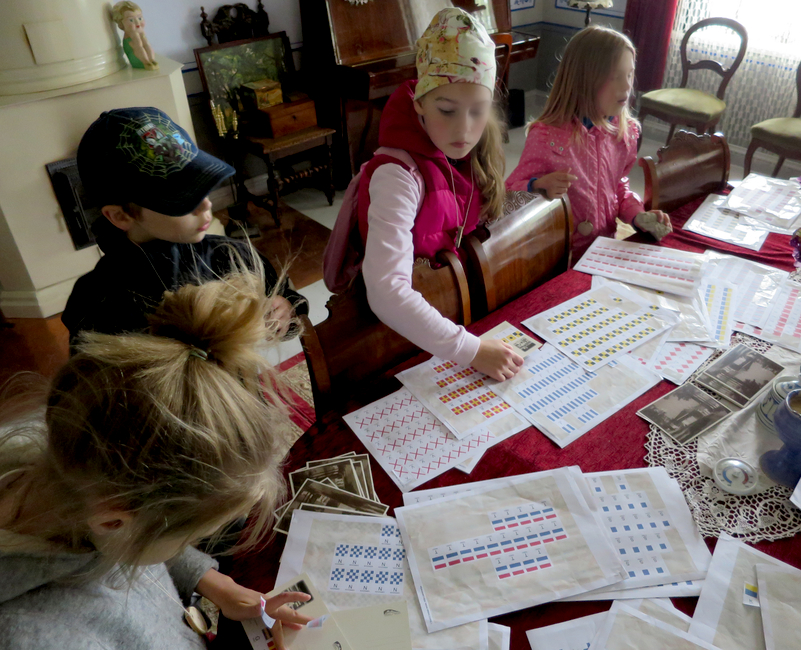 Kapteniprogramm - signaallippude õppimine
