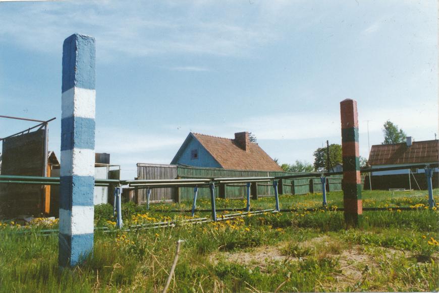 Nõukogude piirivalve õppeplats, Soome ja Venemaa piiripostidega jäljeõppeplats 1993