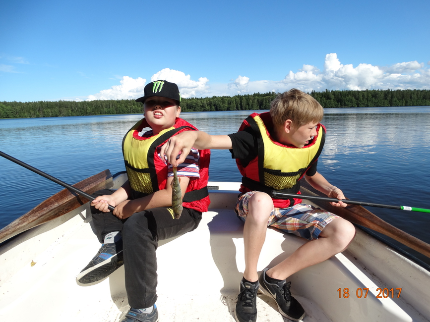 "Käsmu järvel, pisut ka kalaõnne ""Noor Kalur"" 2017"