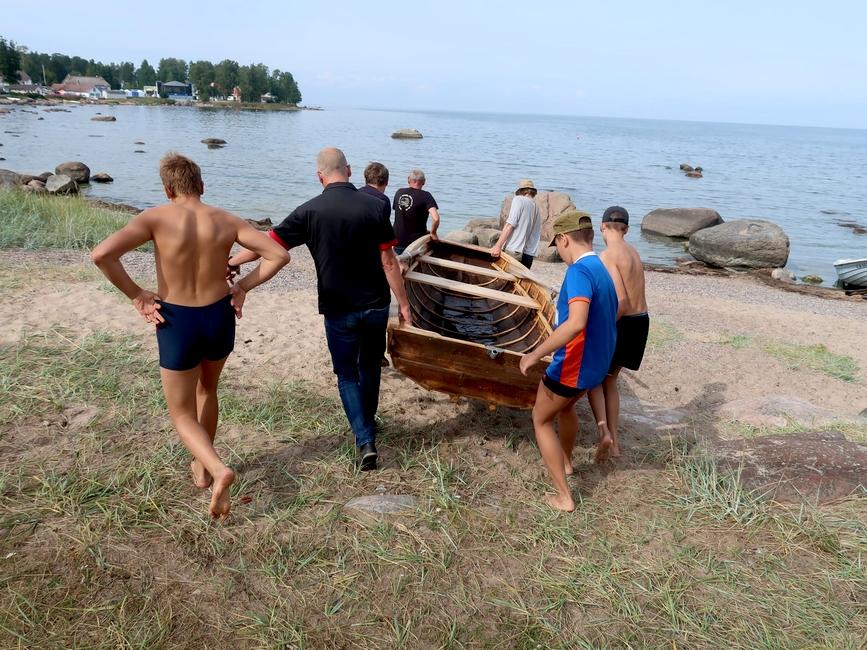 NOOR KALUR 2019 laagri viimasel päeval veestatud EISTUK