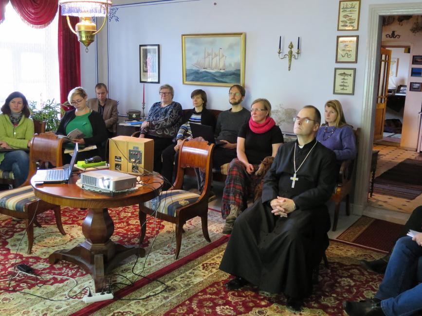 Lahemaa rannakülade koosolekul osalejad 21.11.2015 Käsmus