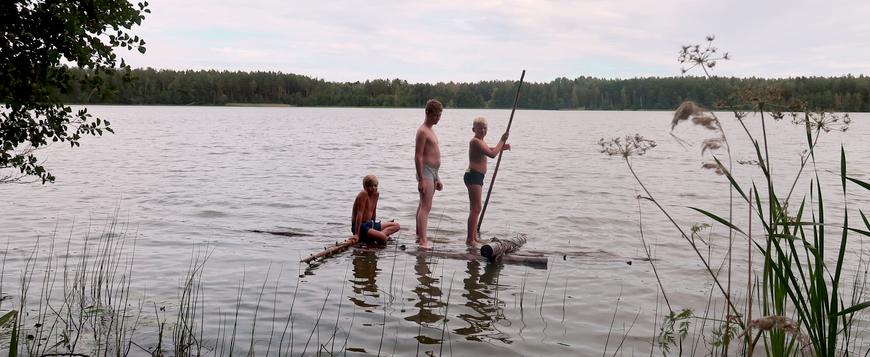 Parve kandevõime proov Käsmu järvel 2018