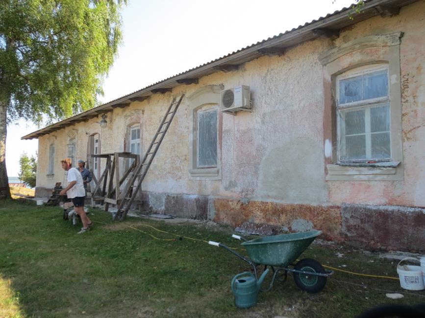 2013 põhjakülje restaureerimine-lubikrohv