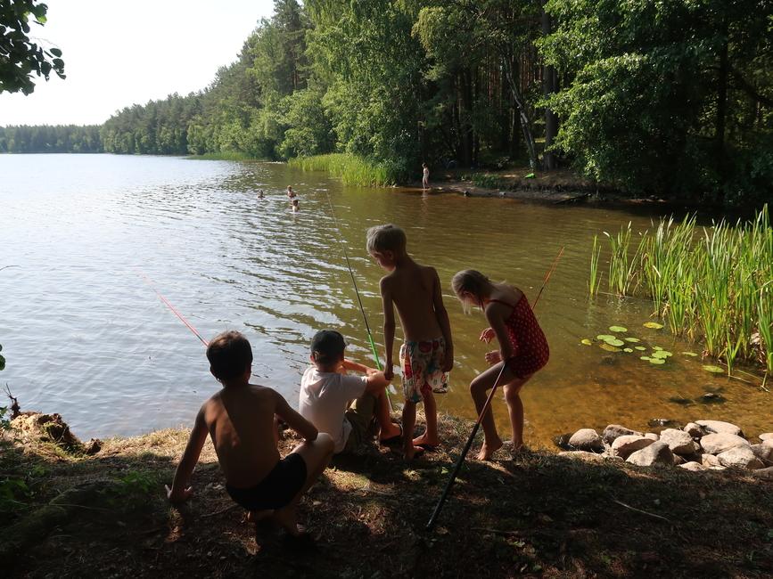 lastelaager NOOR KALUR 2019 III vahetus Käsmu järvel