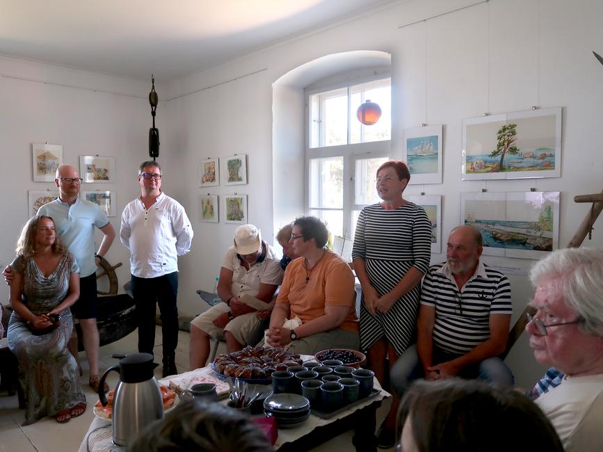 Dagmar Normeti näituse avamisel  - Tiina Lauliku sõnavõtt