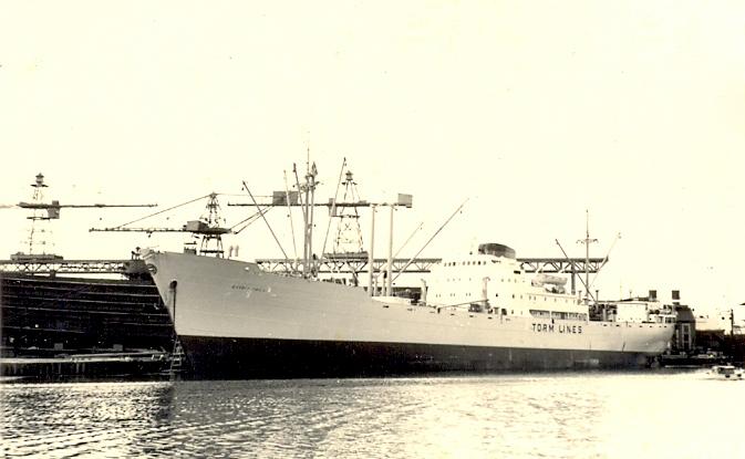 Estrid Torm, Justin Lysak - 1.tüürimees 1955-1957