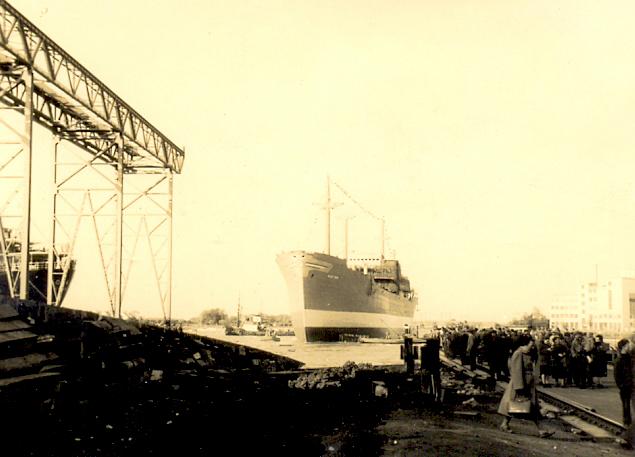 Alice Torm -esimest korda om aõiges elemendis- VEES 4.10.1957, Justin Lysaki viimane laev