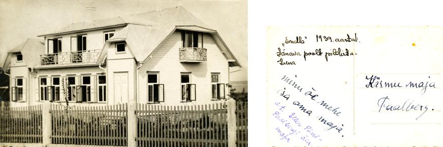 Käsmu, Endla talu 1939