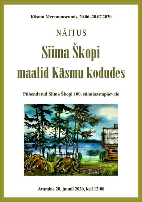 Siima Škopi maalid Käsmu kodudes