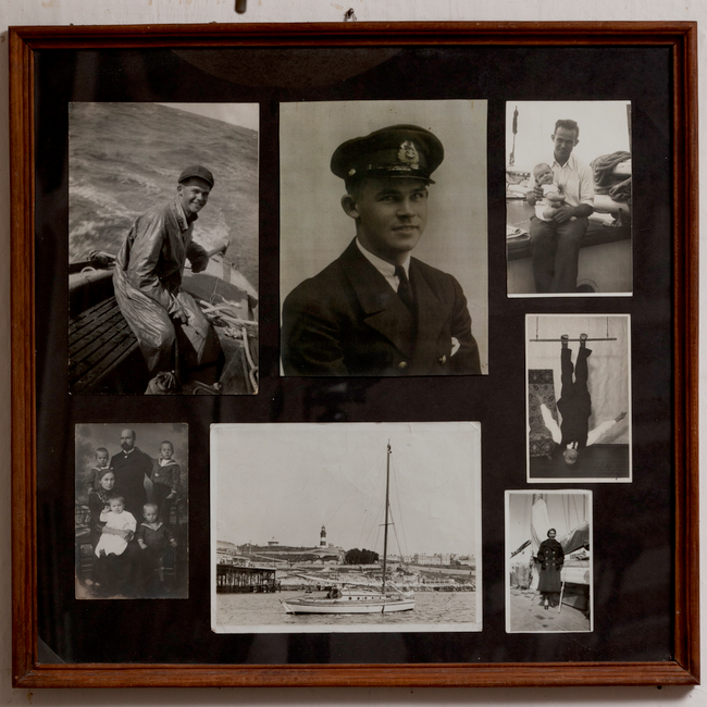 Valik perekond Valter fotodest Käsmu Meremuuseumis