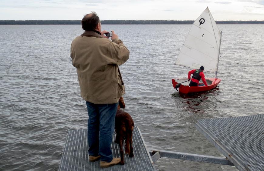 Viljasaare prototüüp KÄSMU-1, veeskamine 17.10.2013
