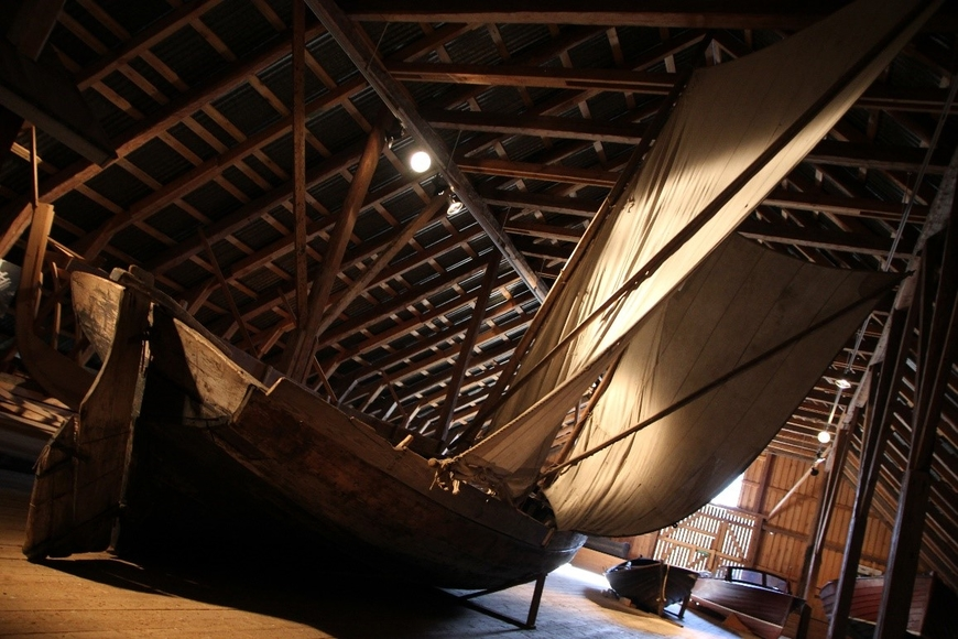 Saaristomuseost leitud 7-meetrine 2 mastiga iseloomuliku vööriga kalapaat 19. sajandi keskpaigast.