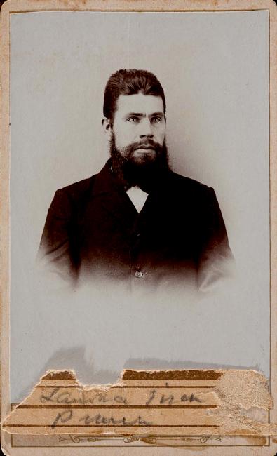 Isak Pruun 1870-1929 Allikas: Aarne Vaigu erakogu