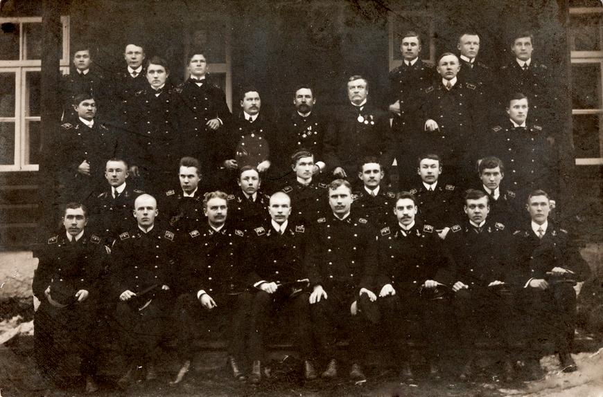 Käsmu Merekool õpilased 1910? Allikas: Aarne Vaigu erakogu