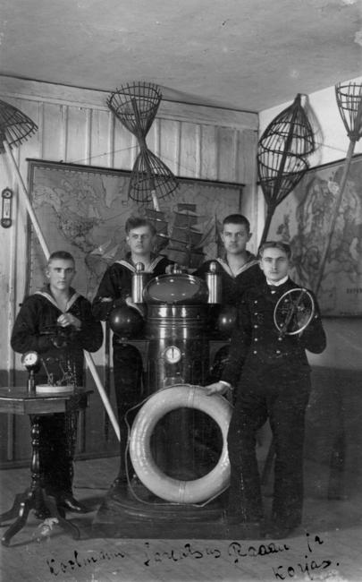 1919, Käsmu Merekooli õpilased Allikas: Aarne Vaigu erakogu