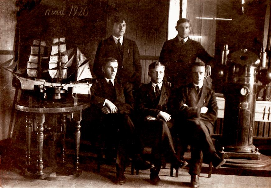 Käsmu Merekool, mai, 1920 Allikas: Aarne Vaigu erakogu