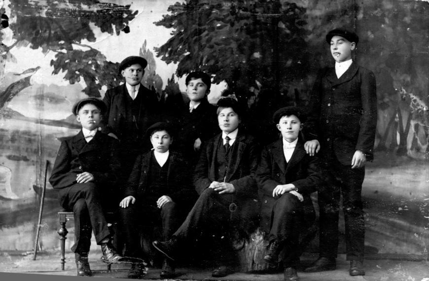20. märts, 1918, Käsmu Merekooli õpilased Allikas: Aarne Vaigu erakogu