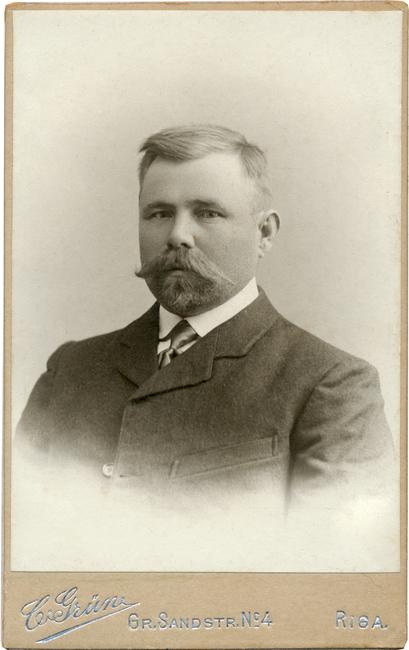 Joost Paadimeister 1866-1941 Allikas: Aarne Vaigu erakogu