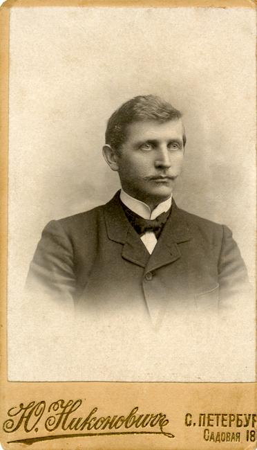 Oskar Tiidemann 1874-1963 Allikas: Aarne Vaigu erakogu