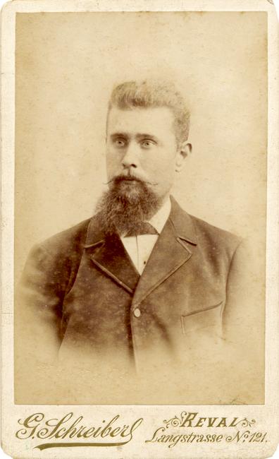 Jakob Kristenbrun 1870 - 1899 Allikas: Aarne Vaigu erakogu