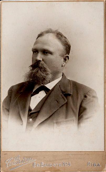 Maunus Mikenberg 1865 - 1928 Allikas: Aarne Vaigu erakogu