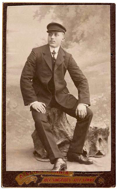 Gustav Adolf Lepni 1891 - 1935 Allikas: Aarne Vaigu erakogu