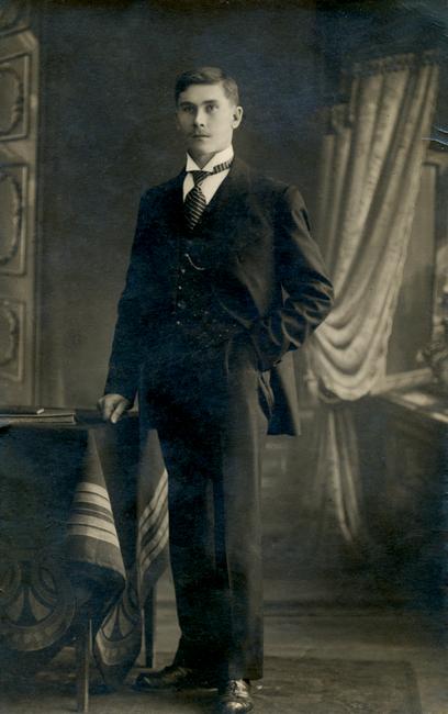 Aleksander Kaskni 1887 - 1926 Allikas: Aarne Vaigu erakogu
