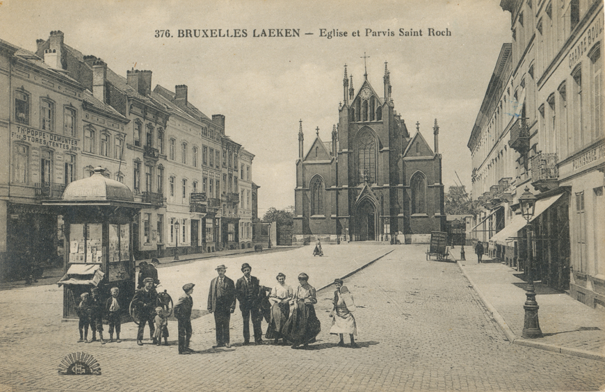 Bruxelles Laeken Allikas: Aarne Vaigu erakogu