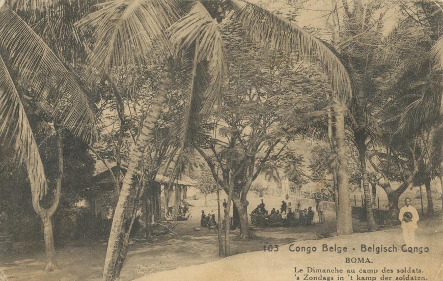 Congo-Belge / Belgisch-Congo Allikas: Aarne Vaigu erakogu