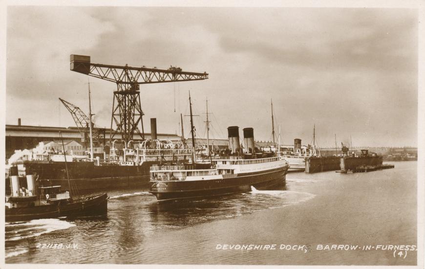 Devonshire Dock Allikas: Aarne Vaigu erakogu