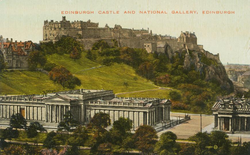 Edinburgh Castle and National Gallery Allikas: Aarne Vaigu erakogu