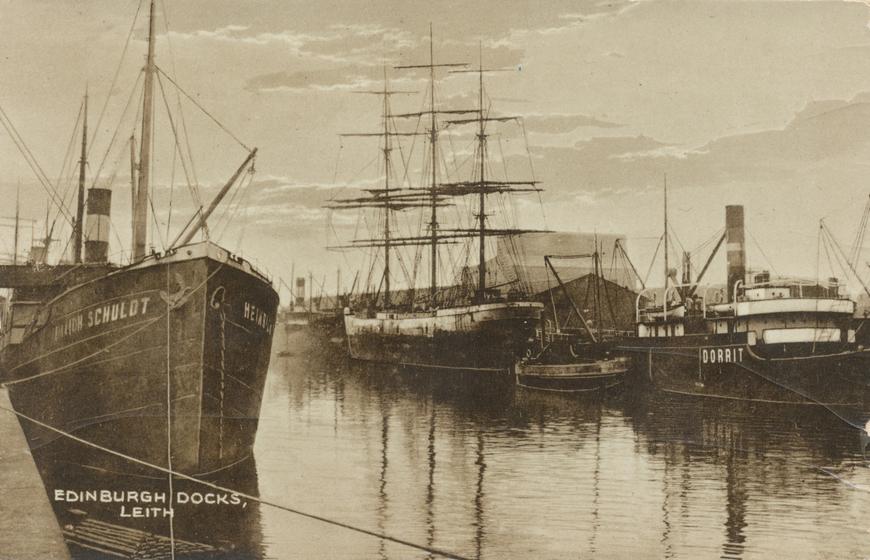 Edinburgh docks Allikas: Aarne Vaigu erakogu
