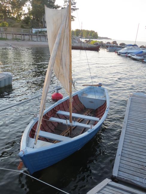 Sandströmi kaluripaat / HSA-305 Allikas: Aarne Vaigu erakogu