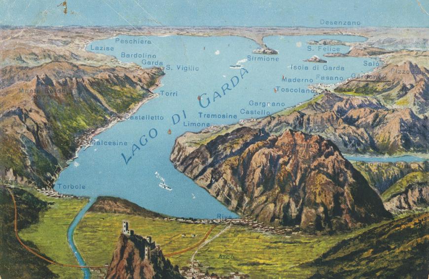 Lago di Garda Allikas: Aarne Vaigu erakogu