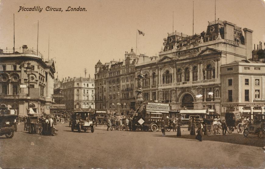 London / Piccadilly Circus Allikas: Aarne Vaigu erakogu