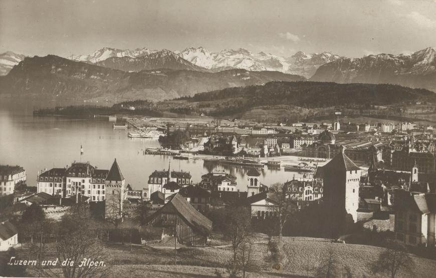 Lutsern und die Alpen Allikas: Aarne Vaigu erakogu