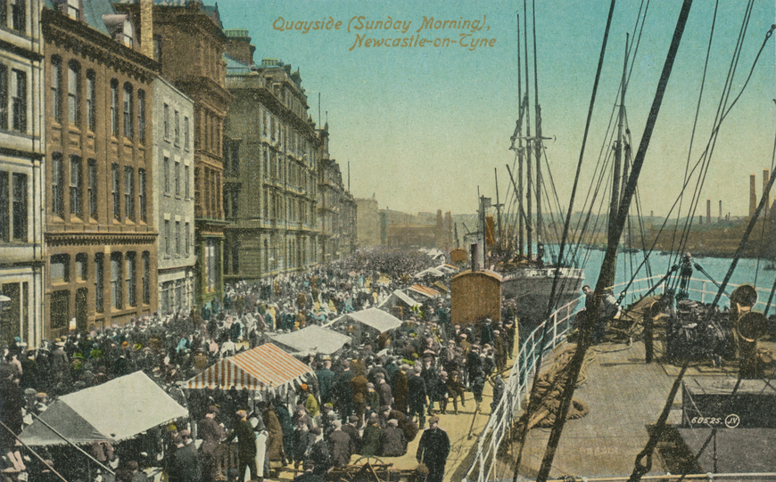Newcastle on Tyne / Quayside Allikas: Aarne Vaigu erakogu