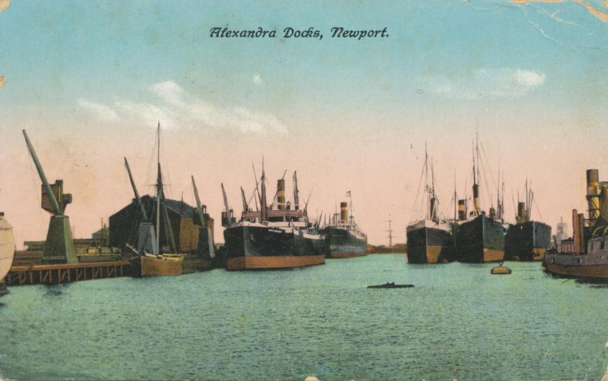 Newport / Alexandra Docks Allikas: Aarne Vaigu erakogu