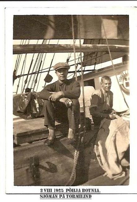 Nigul Vaino / Käsmu MK I kl. 1924 Allikas: Aarne Vaigu erakogu