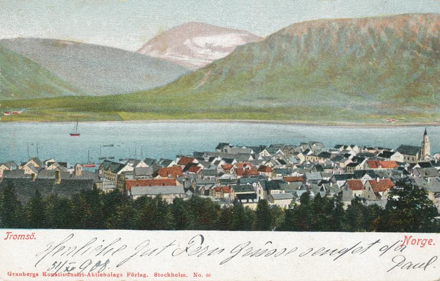 Tromsö / Norge Allikas: Aarne Vaigu erakogu