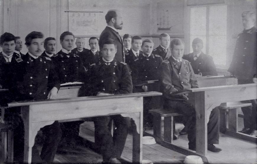 Rudolf Walter, Käsmu Merekooli õpetajana Allikas: Aarne Vaigu erakogu