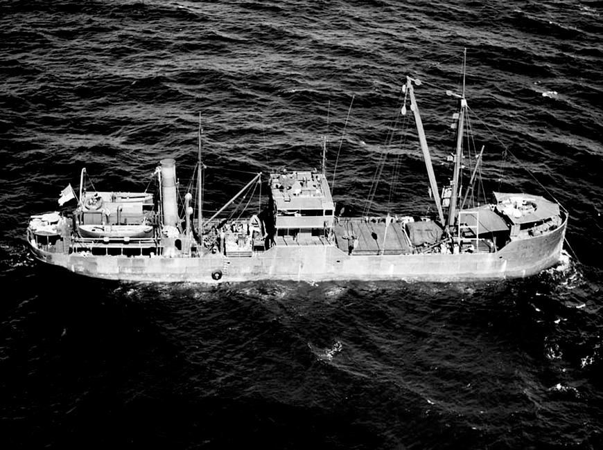 Tšarterlaev / Harjurand 23.05.1943 / USA Allikas: Aarne Vaigu erakogu