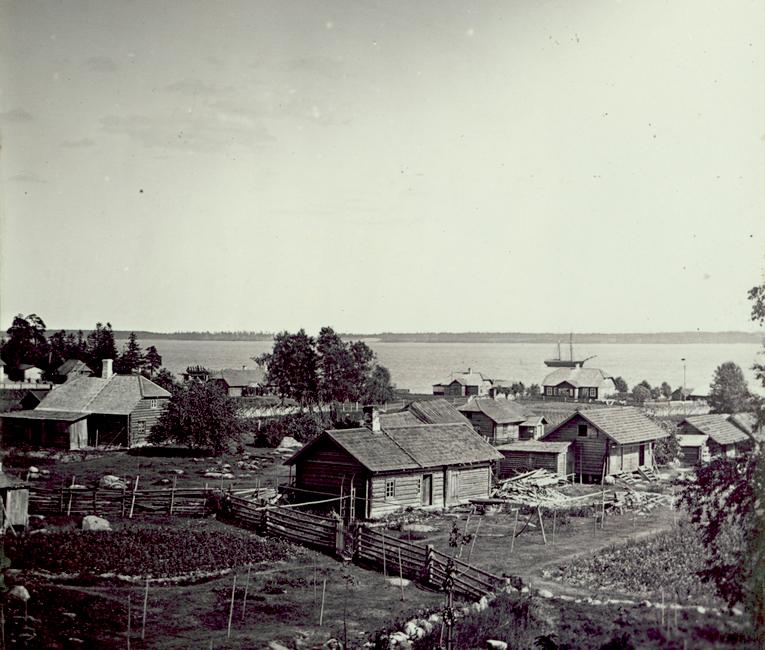 Vanapere / Ristu / Tõnikse- taga 1898 laevaehitus kaevu valgamas Allikas: Aarne Vaigu erakogu