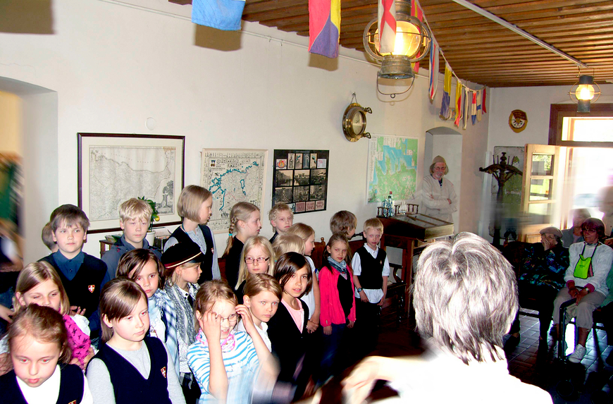 Concert held in the foyer in early Summer 2012