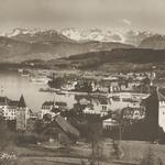 Lutsern und die Alpen