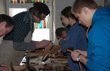 Aarne Vaik õpetab pastlaid valmistama